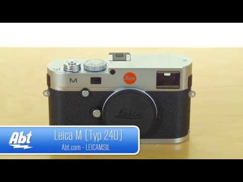 Leica M Type 24 MP M-System Rangefinder Digital Camera Overview