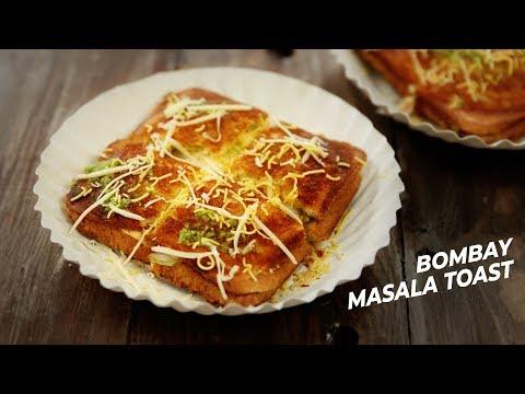Bombay Masala Toast - Aloo Sandwich Veg Street Style with Imp. Chutney Recipe - CookingShooking