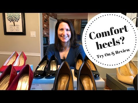 Shoe Try On Haul | Comfort Heels | Amazon Prime | Shoe Review