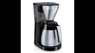 Hans doet review - Melitta Easy Top Therm Steel