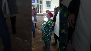 Мечта Нурасыла: мальчик из Астаны прокатился с полицейскими