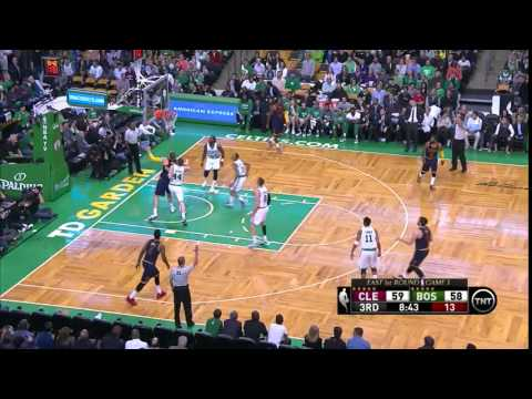 NBA, Playoff 2015, Cavaliers Vs. Celtics, Round 1, Game 3, Move 37, Kevin Love, 3 Pointer
