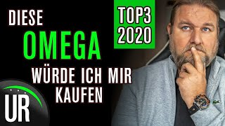 TOP 3 OMEGA-Uhren: Diese OMEGA Uhren würde ich mir kaufen | 2020 |Test|Review|Deutsch