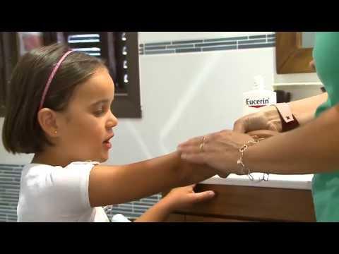 Los tratamientos atopicheskogo de la dermatitis a los recién nacidos