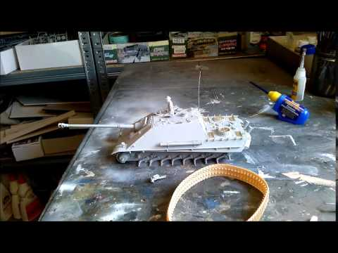 Building review: Dragon Jagdpanther G2 in 1/35 scale Part I