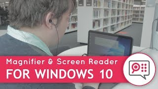 SuperNova Magnifier & Screen Reader - For Windows 10
