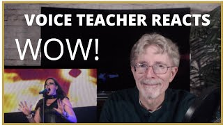VOICE TEACHER REACTS TO NIGHTWISH - with Floor Jansen   GHOST LOVE SCORE
