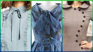 Neck Styles For Skater Dresses, Midi & Long Frocks Sleeve Skater Dresses
