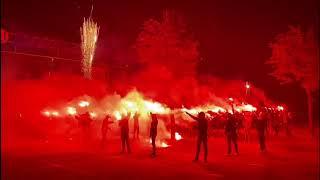Feest RKC Waalwijk: Supporters vieren 80e verjaardag club