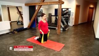 Cvičení pro budoucí maminky 6 - posilovaní