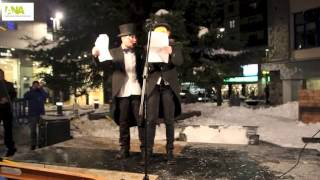 preview picture of video 'Penjada Carnestoltes Andorra la Vella i Escaldes-Engordany'