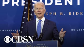 Biden calls on Congress to pass stimulus as economic recovery slows