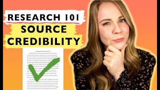 Credible Source: Five tips to determine if your source is credible