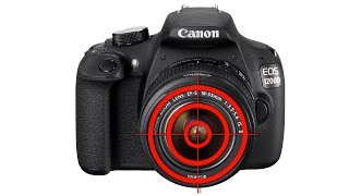 Canon EOS 1200 D. Фокусировка при съемке видео.