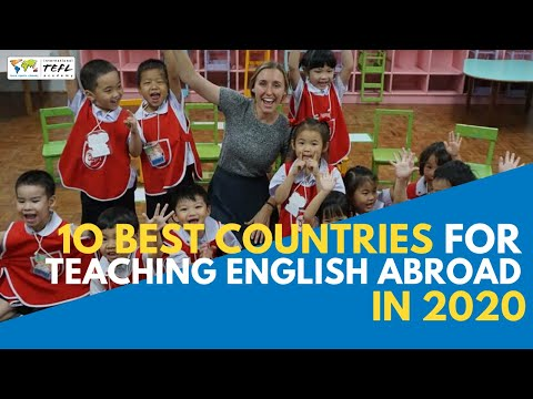 10 Best Countries For Teaching English Abroad in 2020 - Webcast ...
