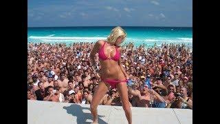 Мексика.Канкун.Гранд Оазис Канкун.Cancun beach party.Mexico.Cancun.Spring break