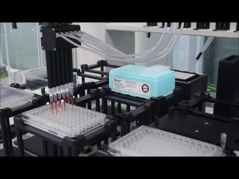 Hệ thống robot chia rót chất lỏng tự động