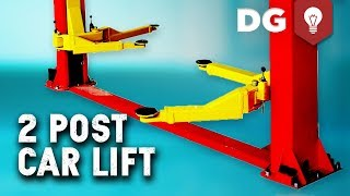 How To Install A 7000 Lb 2 Post Car Lift
