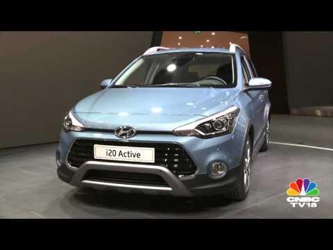 Frankfurt Motor Show 2015: Hyundai i20 Active