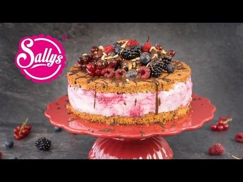 Sommertraum-Torte mit bunten Früchten  / Naked Cake