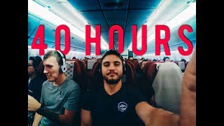 The Flight To BALI: 40 Hours of Travel