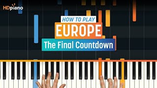 """How To Play """"The Final Countdown"""" by Europe 