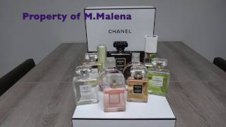 My Chanel Perfume Collection