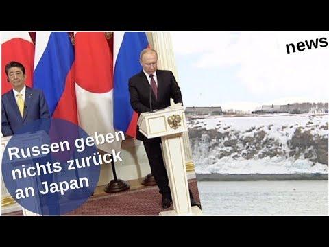 Kurilen: Russen geben nichts zurück [Video]