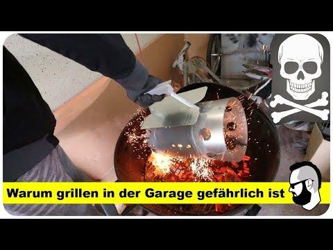 Kohlenmonoxid Melder: Wie gefährlich ist grillen in der Garage? (Wir testen es)