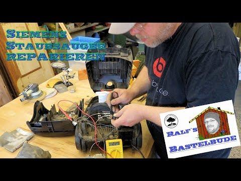 Staubsauger reparieren... Siemens Edition 150 / repair vacuum cleaner