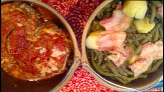 #592 - INSTANT POT / MEATLOAF, Green Beans & Potatoes TOWER MEAL