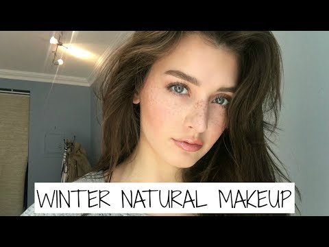 Winter Everyday Natural Makeup Tutorial 2017 | Jessica Clements
