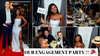 OUR ENGAGEMENT PARTY!!! | AldeciaandAndrew