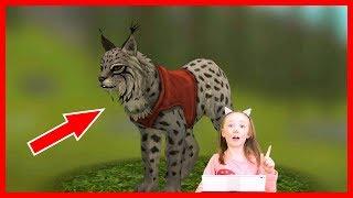 Cимулятор рыси 2. Симулятор маленького питомца. Игра для детей #WildCraft. #ЭнниБенни летсплей