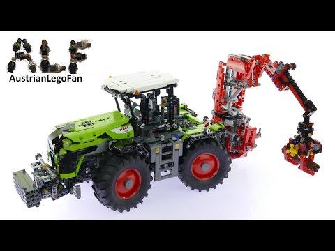 Vidéo LEGO Technic 42054 : Claas Xerion 5000 Trac VC