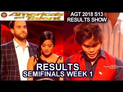 RESULTS Semi-Finals 1 Shin Lim Us the Duo Who advanced to the Finals? America's Got Talent 2018 AGT