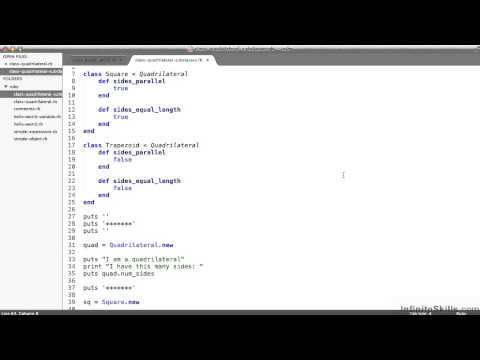 Ruby On Rails Tutorial   Objects And Classes - Part 1 - YouTube