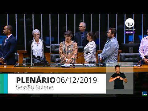 Plenário - Homenagem ao Dia Internacional dos Direitos Humanos - 06/12/2019 - 15:39