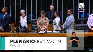 Plenário - Homenagem ao Dia Internacional dos Direitos Humanos - 06/12/2019 15:00
