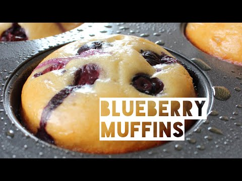 Video Healthy Blueberry Muffin Recipe | How To Make Low Fat Low Calorie Blueberry Muffins