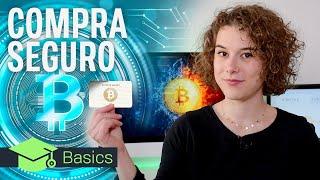 Cómo comprar Bitcoins de forma segura y sin riesgo 🤑