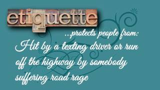 Teenage Etiquette - Etiquette Lessons for Teenagers - How to Teach Teenagers