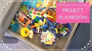 Organize With Me: Kids Playroom Organization