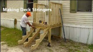 Making Stair Stringers - Learn how to build your own.