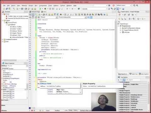 Delphi Programming Tutorials #4 Listboxes