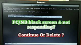 ▷▷ How To Fix Windows Resume Loader On Windows 7 ▷▷ - Most ...