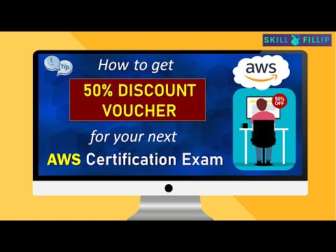 How to get 50% Discount Voucher for your next AWS Certification ...
