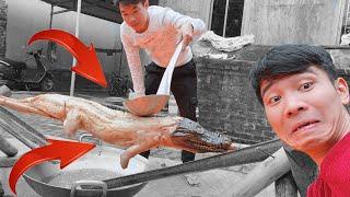 PHD | Cá Sấu Xối Dầu | BBQ Crocodile