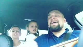 Баста с дочками исполняет трек Сансара