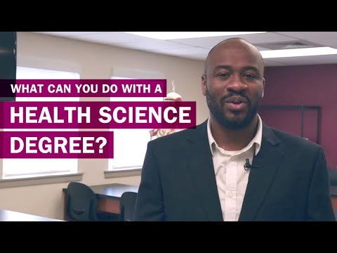 What can you do with a Health Science degree?